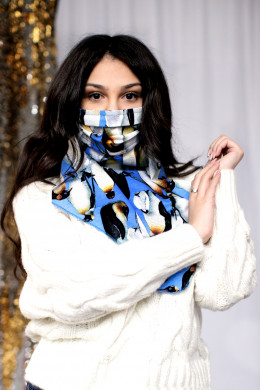 Маска-шейный платок 105м